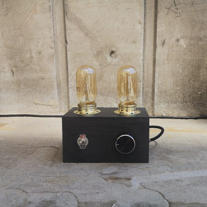 RADIO LAMPE SCHWARZ