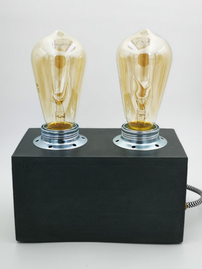 RADIO LAMP BLACK EDISON