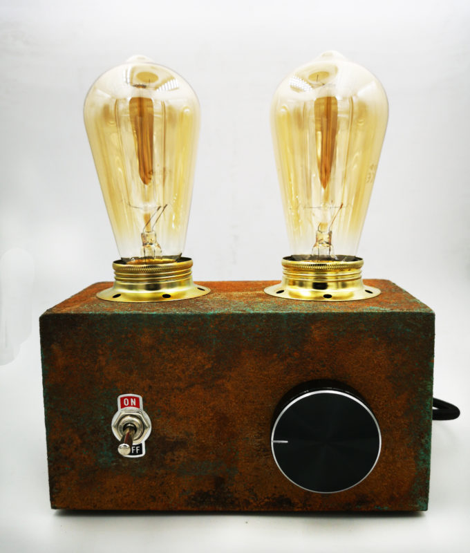 PATINA RADIO EDISON LAMP