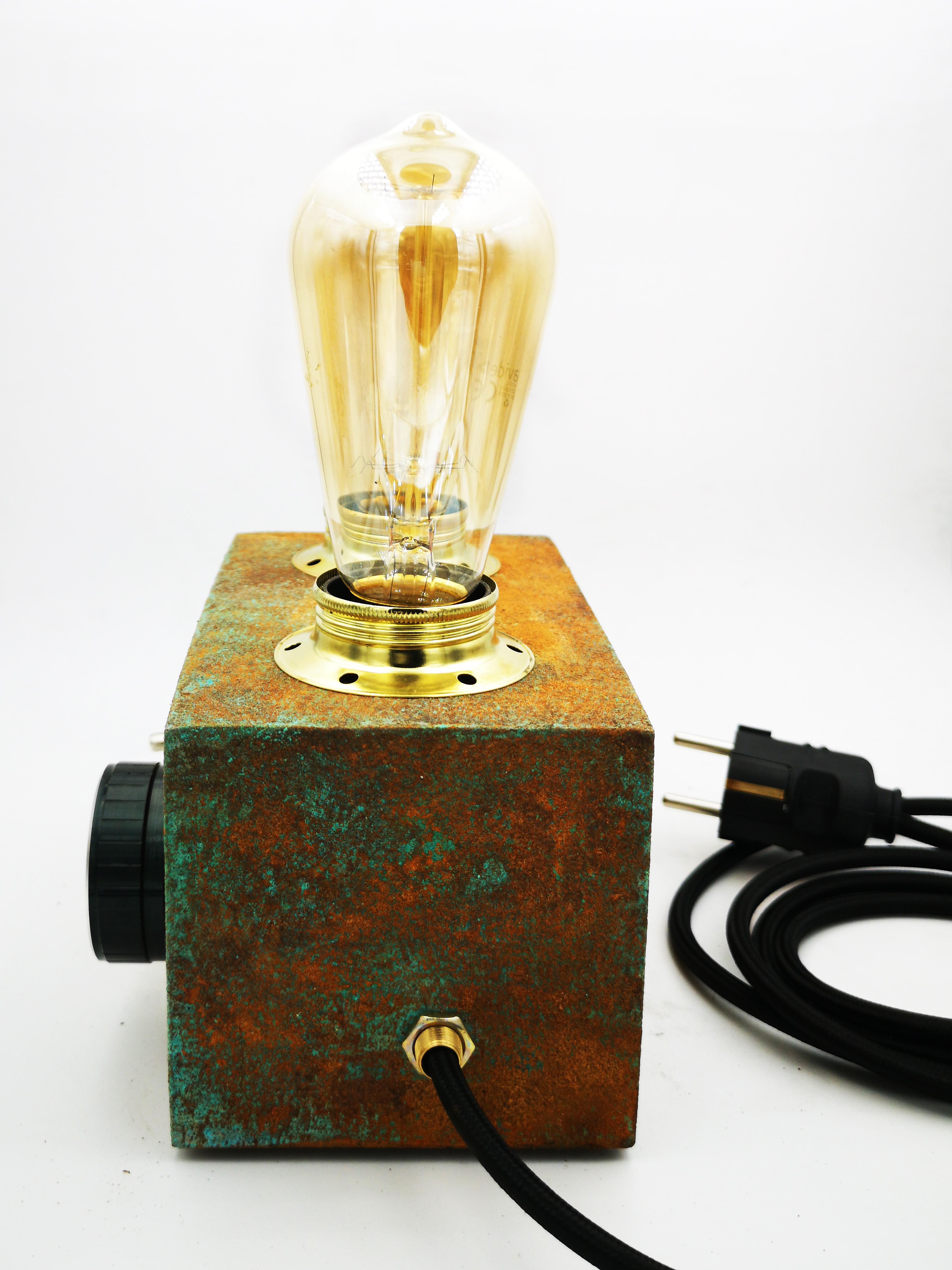PATINA RADIO EDISON LAMP