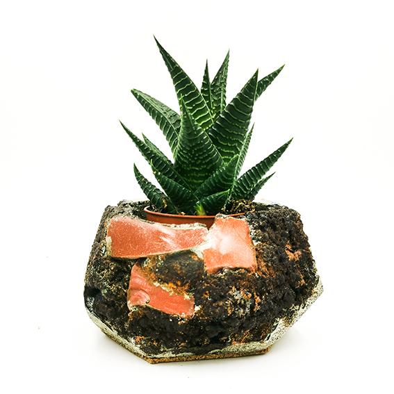 Concrete Planter Mineral Stone